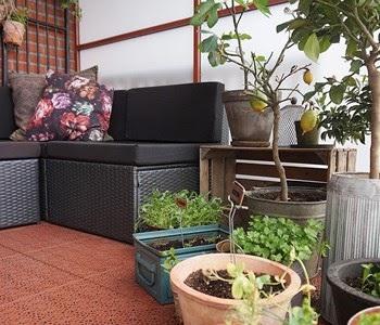 ideje za uredjenje terase slike