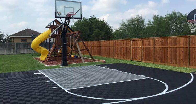 Košarkaški teren u dvorištu