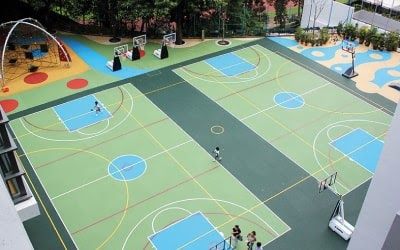 sportski tereni izrada